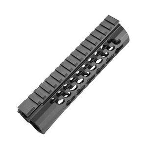 "Samson Manufacturing Free Float KeyMod Evolution Series 7.6"" Hand Guard 6061 T6 Aluminum Hard Coat Anodized Black KM-EVO-7.6"
