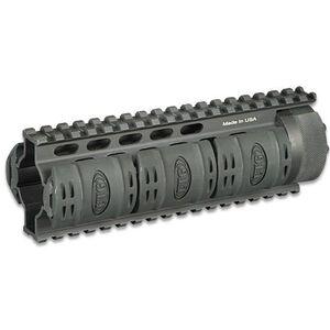 "Leapers UTG PRO AR-15 Free Float Quad Rail Handguard 7"" Carbine Length Aluminum Black MTU005"