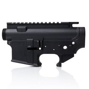 LanTac LA-SF15 AR-15 Stripped Upper/Lower Receiver Set .223/5.56 USR Forged Aluminum Black