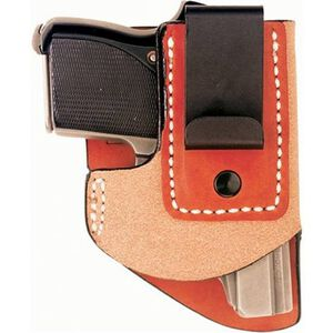 """DeSantis Gunhide """"Pop Up"""" Seecamp .25 Caliber, .32 Caliber Semi Automatic Pistols Inside the Waistband Holster Right Hand Leather Tan 020TAA7Z0"""