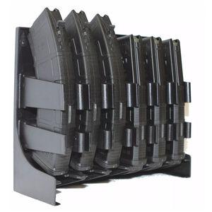 Mag Storage Solutions AK-47/AR-10 Magazine Holder Black