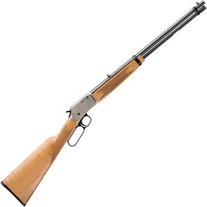 "Browning BL-22 Grade II Maple AAA Lever Action Rimfire Rifle .22 LR 20"" Barrel 15 Rounds Tube Magazine Maple Stock Polished Blued Finish"