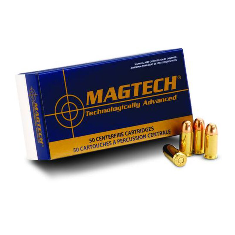 Magtech .357 Magnum Ammunition 1000 Rounds FMJFP 125 Grains 357Q