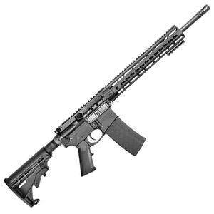 """CORE15 KeyMod Scout AR-15 Semi Auto Rifle 300 AAC 16"""" Barrel 30 Rounds 15"""" KeyMod Handguard Collapsible Stock Black"""