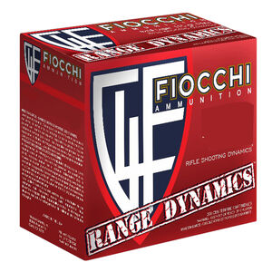 Fiocchi Range Dynamics .300 AAC Blackout Ammunition 500 Rounds 150 Grain Full Metal Jacket Boat Tail 1950fps
