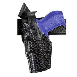 Safariland 6360 ALS SLS Duty Holster Glock 17, 22 Level 3 Retention Left Hand SafariLaminate Basket Black 6360-83-82