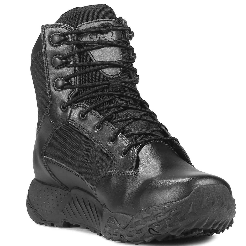 Black Boots Ua Stellar Armour Tactical Composite Under Toe