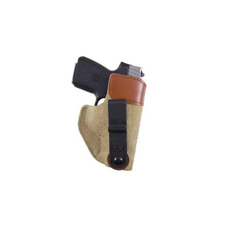 DeSantis 106 Sof-Tuck IWB Holster Small Frame 9/40 Autos Right Hand Leather Tan 106NAD6Z0