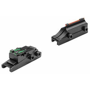 TRUGLO Pro-Series 8mm Slug Gun Fiber Optic Sights for Vent Ribs