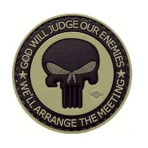 """5IVE Star PVC Punisher Enemies Morale Patch 2"""" 6776000"""