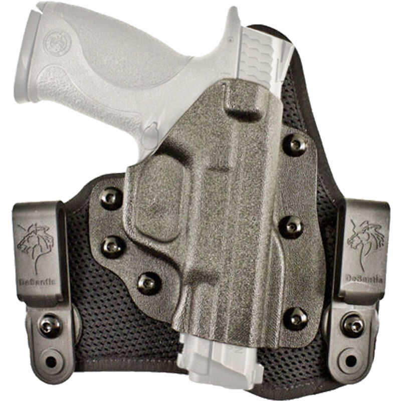 DeSantis Gunhide Infiltrator AIR S&W M&P/SD/M&P2.0 9mm/.40 IWB Holster Right Hand Breathable Synthetic and Kydex Black