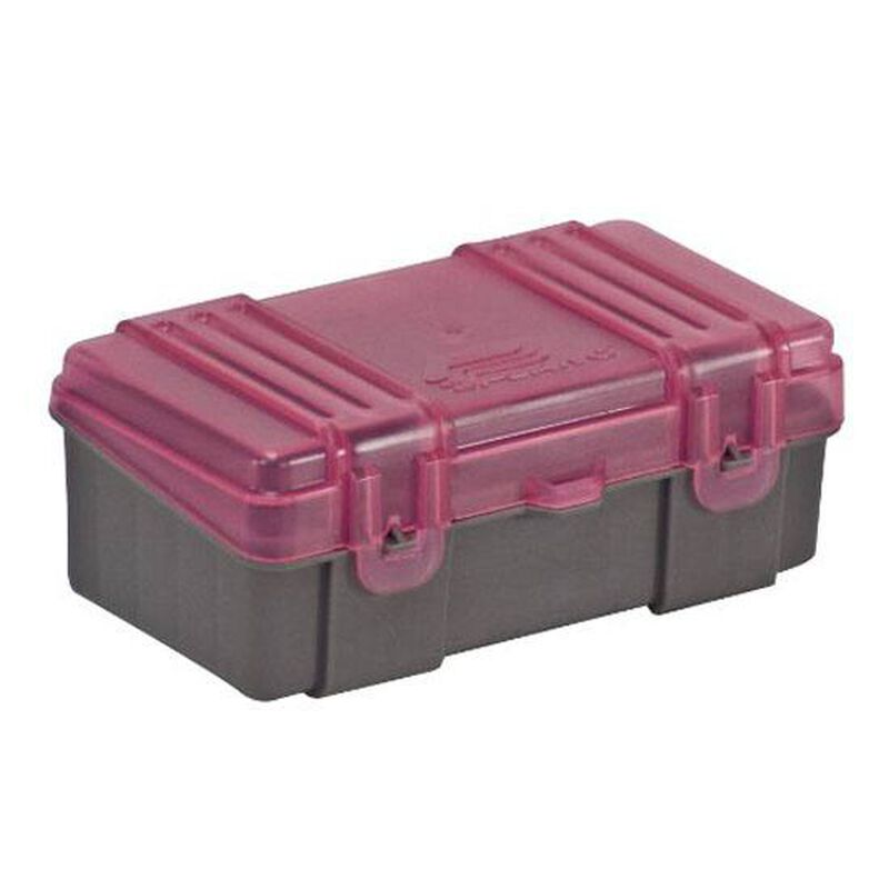 Plano Ammunition Field Box .40 S&W/10mm/.45 ACP Holds 50 Rounds Charcoal/Rose 1227-50