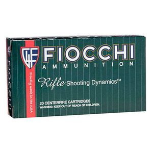 FIOCCHI .22-250 Remington Ammunition 200 Rounds PSP 55 Grains