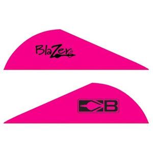 """Bohning Blazer Vanes 2"""" Solid Hot Pink 36 Pack 10831HP2"""
