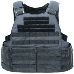 Voodoo Tactical MOLLE Hayden Plate Carrier for Soft or Hard Armor Black 20-0097001000