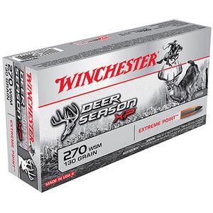 Winchester XP .270 WSM 130 Grain Polymer Tip 20 Round Box