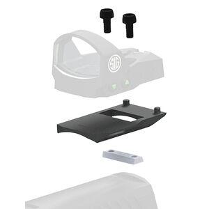 SIG Sauer ROMEO1 Reflex Sight Mount Kit for HK P2000 Models Matte Black Finish