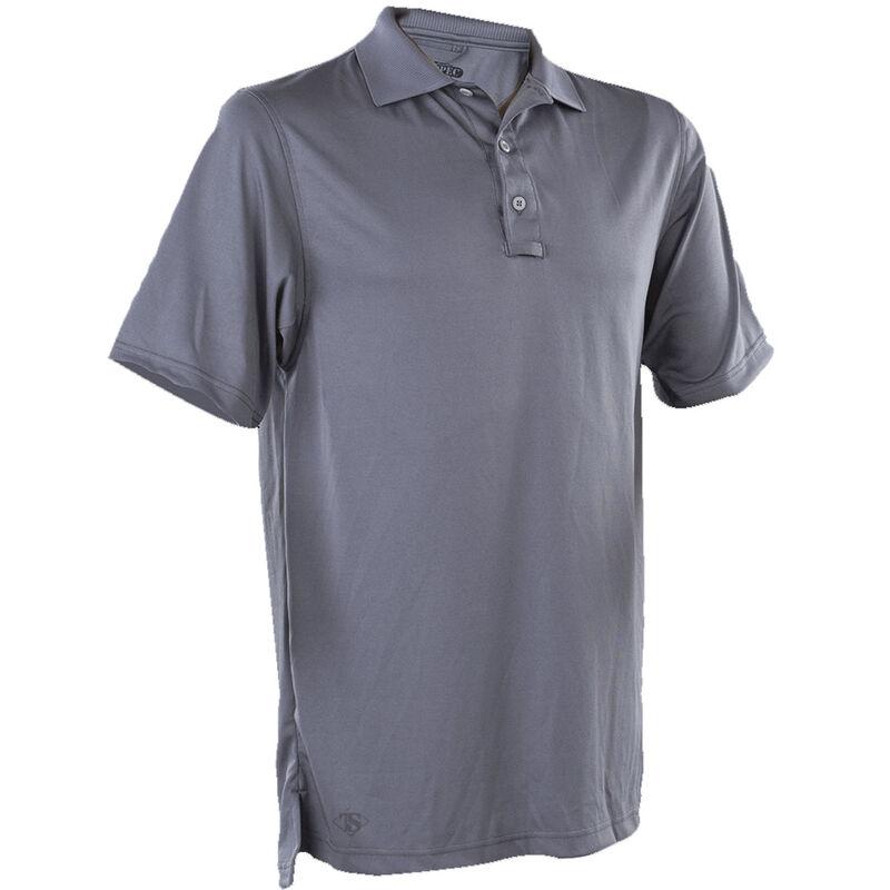 TruSpec Men's 24-7 Series Short Sleeve Performance Polo XL Steel Grey