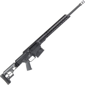 "Barrett Firearms Manufacturing MRAD .338 Lapua Mag Bolt Action Rifle 10 Rounds 24"" Fluted Barrel Folding Stock Black Anodized"