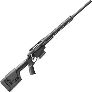 "Remington 700 PCR Bolt Action Rifle 6.5 Creedmoor 24"" Threaded Barrel 5 Rounds Precision Chassis SquareDrop Aluminum Handguard Magpul PRS Gen 3 Stock Black Finish"
