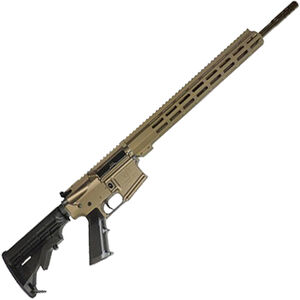 "Great Lakes .350 Legend AR-15 Semi Auto Rifle 18"" Barrel 5 Rounds 15"" Free Float M-LOK Handguard Collapsible Stock Bronze Cerakote Finish"
