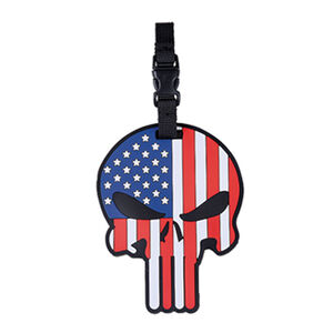 5ive Star Gear Patriotic Punisher Luggage Tag
