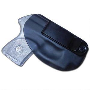 Looper Brand Flashbang Betty RUGER LCP II IWB Clip Holster Right Hand Thermo-Plastic Black