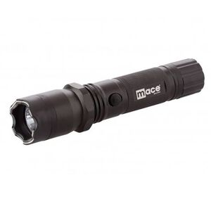 Mace Brand Flashlight and Stun Gun 2,400,000 Volts Rechargeable Battery with Charging Plug Black 80326