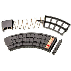XTech Tactical AK-47 Magazine 7.62x39mm 10 Rounds in 30 Round Body No Metal Reinforcing Polymer Black