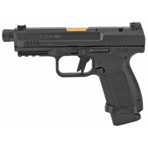 "Canik TP9EC Elite Combat Executive  9mm Luger Semi Auto Pistol 4.73"" Barrel 18 Rounds SAI Sights Picatinny Rail Polymer Frame Black Nitride Finish"