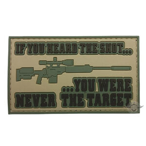 5ive Star Gear PVC Morale Patch If You Heard The Shot
