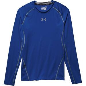 Under Armour Performance Men's HeatGear Long Sleeve Compression Shirt Large Black 1257471001LG