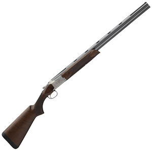 "Browning Citori 725 Field 20 Gauge O/U Break Action Shotgun 26"" Barrels 3"" Chambers 2 Rounds Walnut Stock Engraved Receiver Silver/Blued Finish"