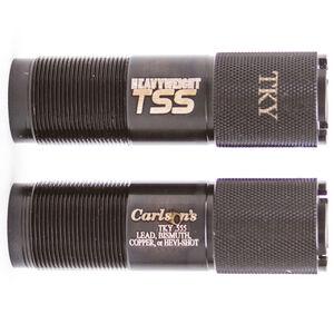 "Carlson's Benelli Crio Plus TSS Turkey Choke Tube 20 Gauge 0.555"" Extended Tube Matte Blue"