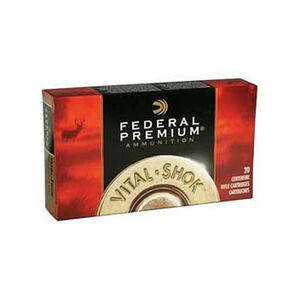 Federal Vital-Shok 7mm WSM Ammunition 20 Rounds 140 Grain Nosler Ballistic Tip