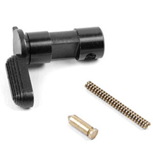LBE Unlimited AR-15 Complete Selector Assembly Selector/Spring/Detent Matte Black ARSLASY