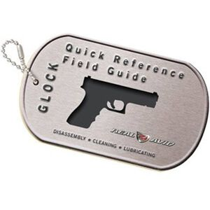 Real Avid GLOCK Field Guide 29 Page Illustrated Quick Reference Guide Laminated