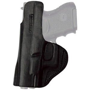 Tagua Gunleather Inside the Pants Holster Springfield XDs IWB Belt Clip Right Hand Plain Black IPH-635
