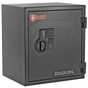 Stack-On Personal Fire Safe Electronic Key Pad 1.2 Cubic Feet Matte Black