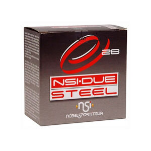 "NobelSport Due Steel 12 Gauge Ammunition 25 Rounds 2.75"" #7 Steel 1 oz 9400921"