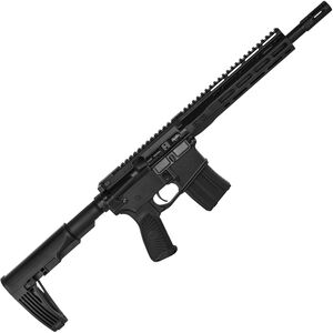 "Wilson Combat Protector Pistol 5.56 NATO AR-15 Semi Auto Pistol 11.3"" Barrel 20 Rounds M-LOK Handguard Tailhook Mod 2 Brace Black"