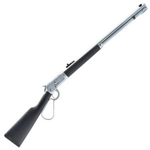 "Taylor's & Co 1892 Alaskan Takedown Lever Action Rifle 357 Mag 16"" Barrel 7 Rounds Overmolded Wood Stock Matte Chrome"
