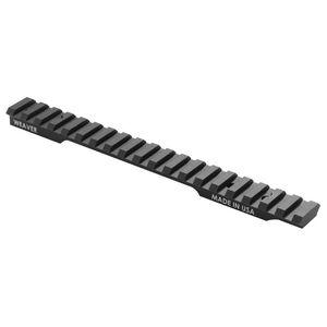 Weaver Mounts Multi-Slot Savage 110 Long Action 8-40 1-Piece Black