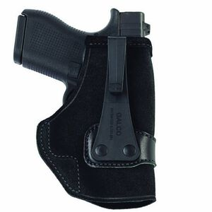 Galco Tuck-N-Go GLOCK 43 IWB Holster Leather Right Hand Black