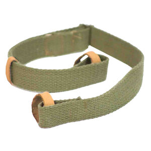 Crickett Rifle Sling For Mini Mosin Canvas/Leather Green