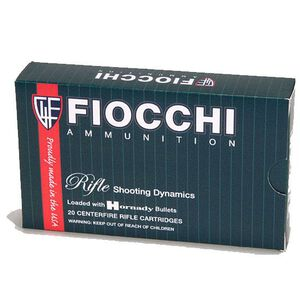 FIOCCHI .243 Winchester Ammunition 200 Rounds PSP 90 Grains