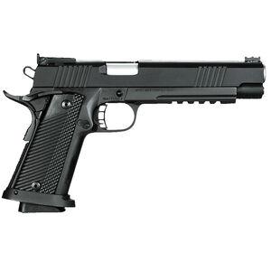 "Rock Island Armory PRO Match Ultra Full Size 1911 10mm Auto Semi Auto Pistol 6"" Barrel 16 Rounds G10 Grip Parkerized Steel Frame Matte Finish"