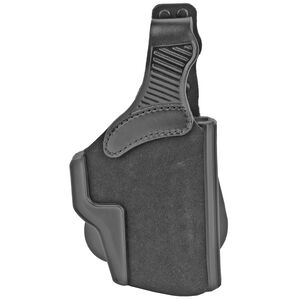 Galco Wraith 2.0 Glock 17 Paddle Holster Right Hand Leather Black TUC850B