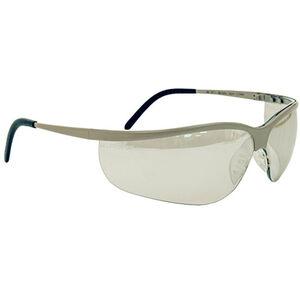 Peltor Metaliks Sport Safety Glasses Brushed Nickel Frame 11345-10000-20
