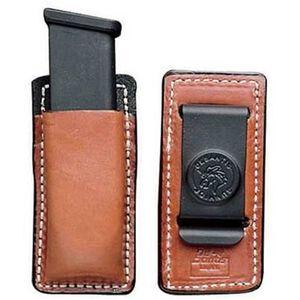 Desantis Secure Magazine Pouch GLOCK 17/19/22/23/36 Magazines Ambidextrous Tan Leather A47TJJJZ0